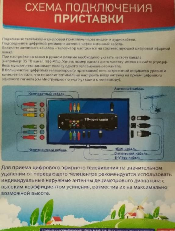 Переход на цифровое телевидение: инструкция по подключению и настройке