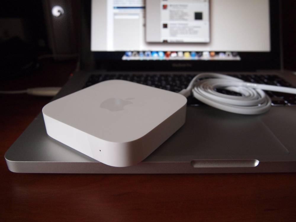 Двухдиапазонный беспроводной маршрутизатор apple airport extreme шестого поколения с поддержкой 802.11ac