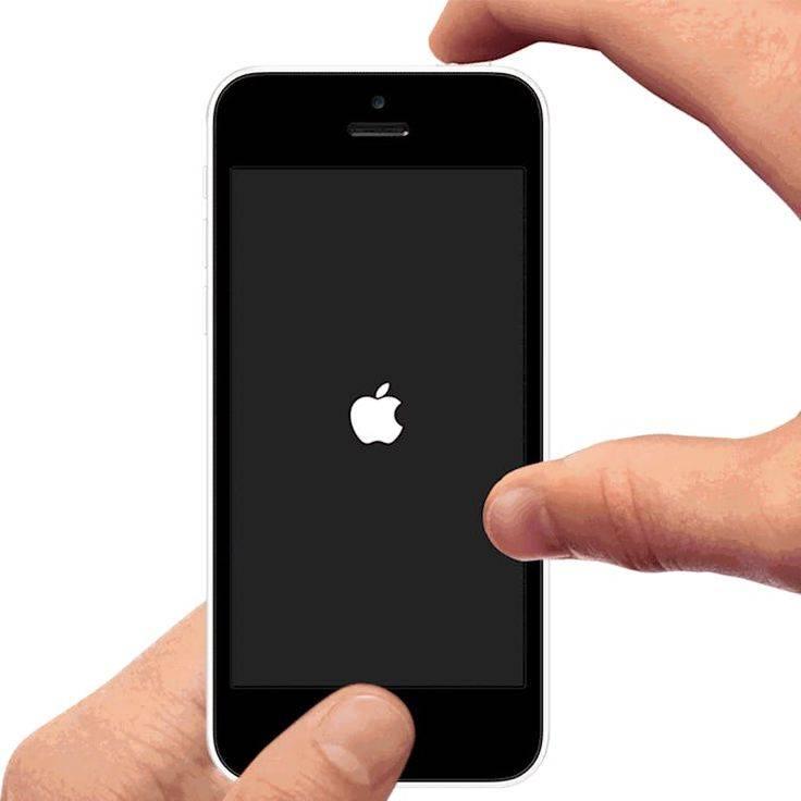 Айфон не включается горит яблоко на экране, решение проблемы.