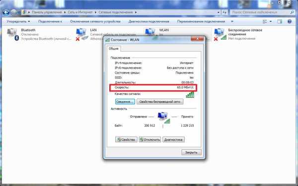 Причины маленькой скорости интернета через wifi на ноутбуке