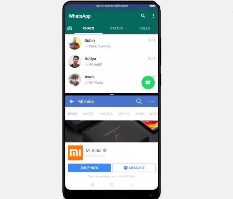 Два Приложения Одновременно На Xiaomi — Разделение Экрана MIUI 9