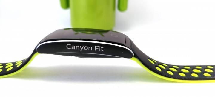 Обзор canyon cns-sb41bg — умный и практичный фитнес-браслет
