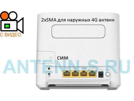 Wifi роутер с сим картой 3g-4g и внешней антенной для дачи — обзор модема rf-link r850