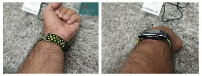 Обзор canyon cns-sb41bg — умный и практичный фитнес-браслет для каждого