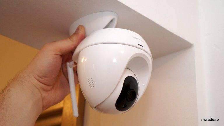 Как подключить сетевую ip камеру видеонаблюдения tp-link tapo c200 к wifi роутеру и настроить для просмотра с телефона?