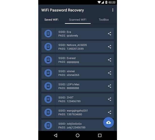 Как узнать пароль от wifi на телефоне андроид