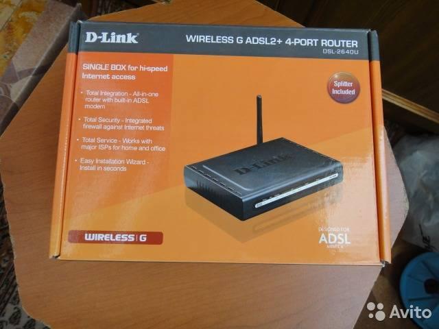 Настройка роутера d-link dsl 2640u