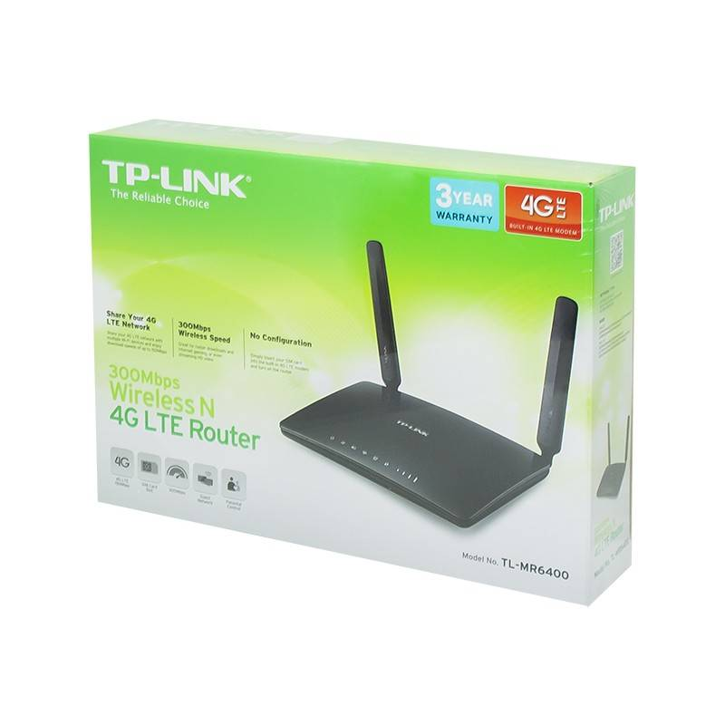 Беспроводной маршрутизатор tp-link tl-mr6400 — купить по выгодной цене в интернет-магазине «пролайн»
