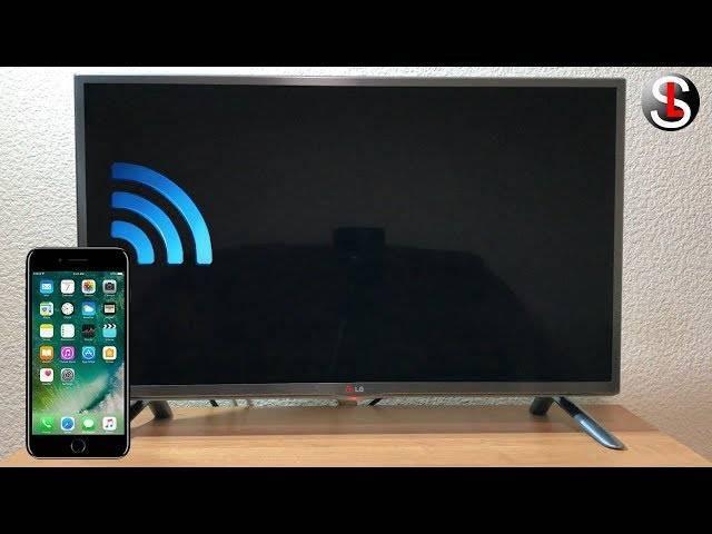 Как подключить телефон (смартфон или айфон) к телевизору через wifi чтобы просматривать фото и видео на тв
