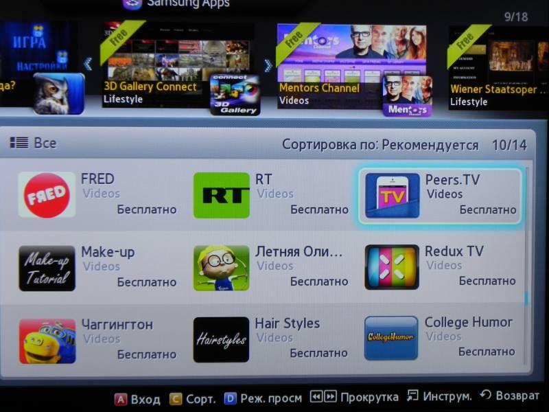 Как смотреть тв-каналы через интернет на телевизоре smart tv с помощью iptv