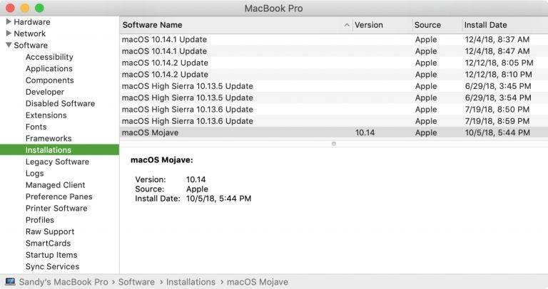 Замена mac-адреса на компьютерах с macos