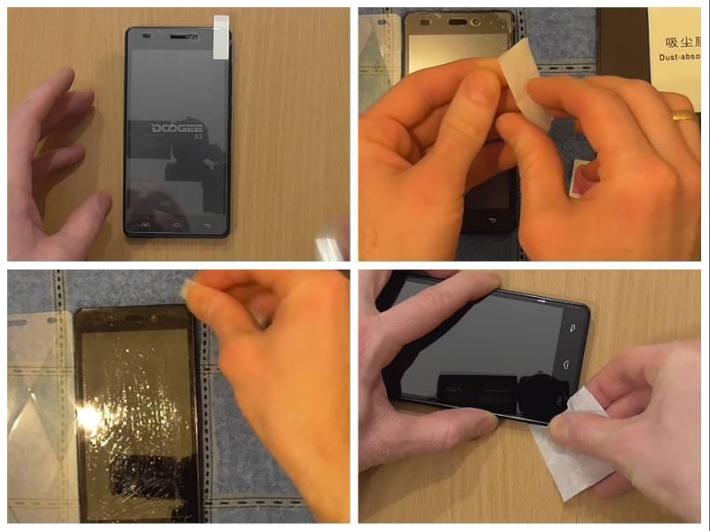 Как наклеить стекло на телефон без пузырьков воздуха и перекосов