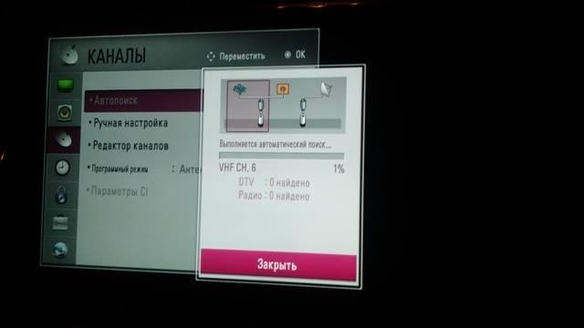 Как на телевизоре lg настроить цифровые каналы — инструкция по настройке