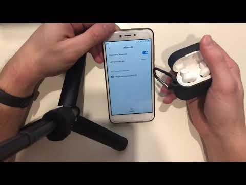Как заряжать беспроводные наушники xiaomi airdots