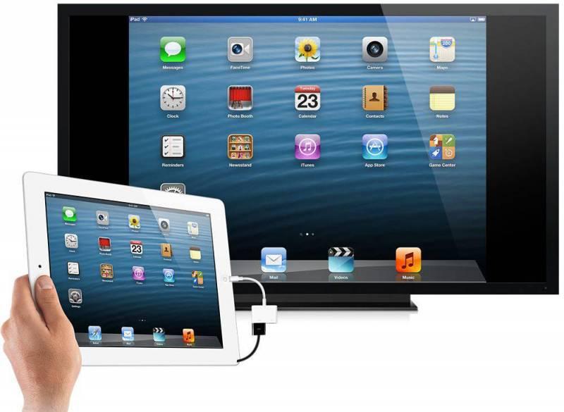 Как с iphone (ipad) вывести фото и видео на телевизор