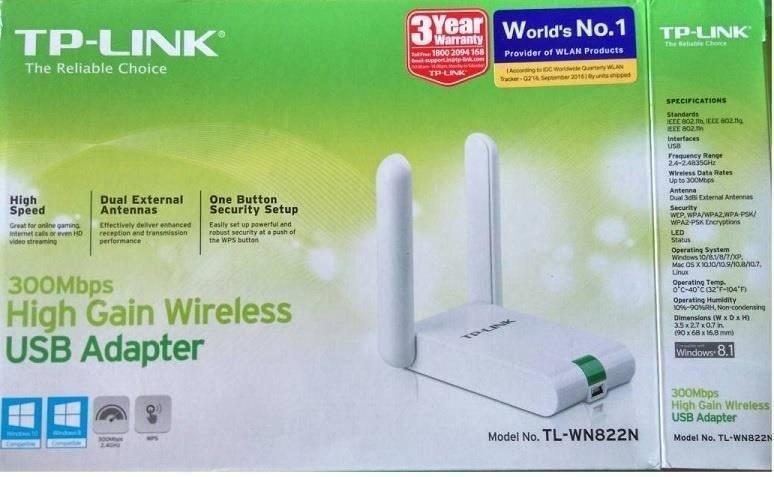 Сетевой Беспроводной WiFi Адаптер TP-LINK TL-WN822N — Подключение к Компьютеру или Ноутбуку по USB, Установка Драйверов, Настройка Windows