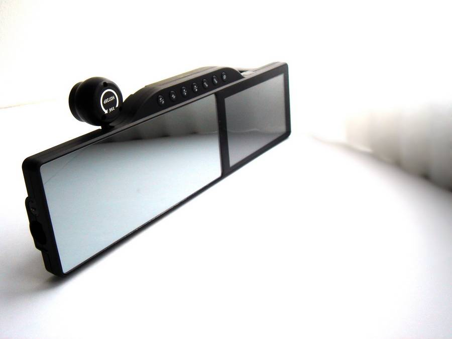 Зеркало Регистратор Заднего Вида С Навигатором И Камерой
