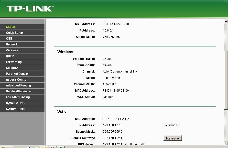 Настройка tp-link tl-wr743nd