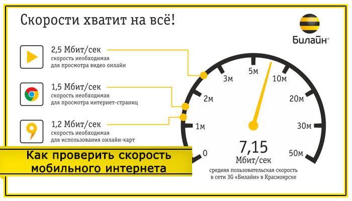 Как увеличить скорость интернета билайн на телефоне | beeline